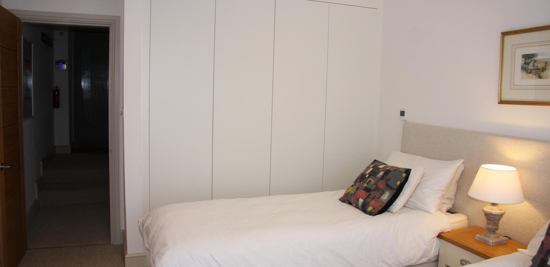 Large wardrobe space