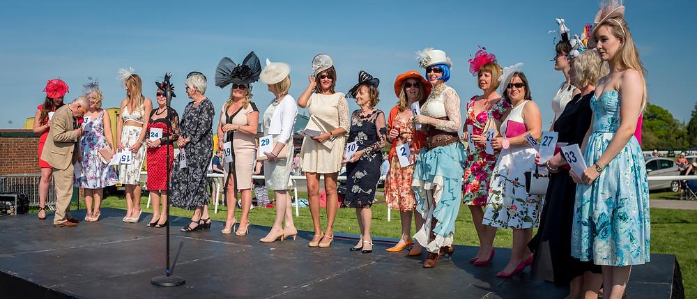 Ladies Day At Plumpton Racecourse Lewes