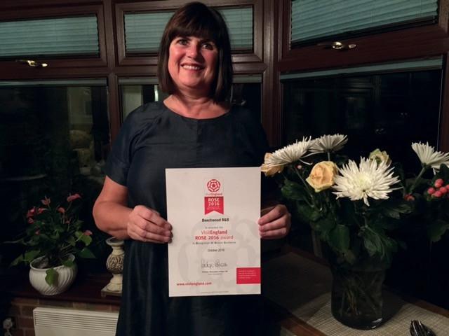 Beechwood wins VisitEngland Rose Award