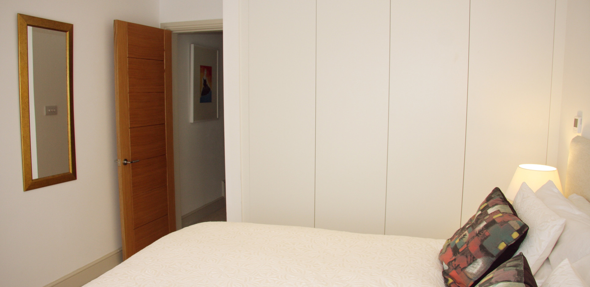 Ground floor with super-kingsize bed