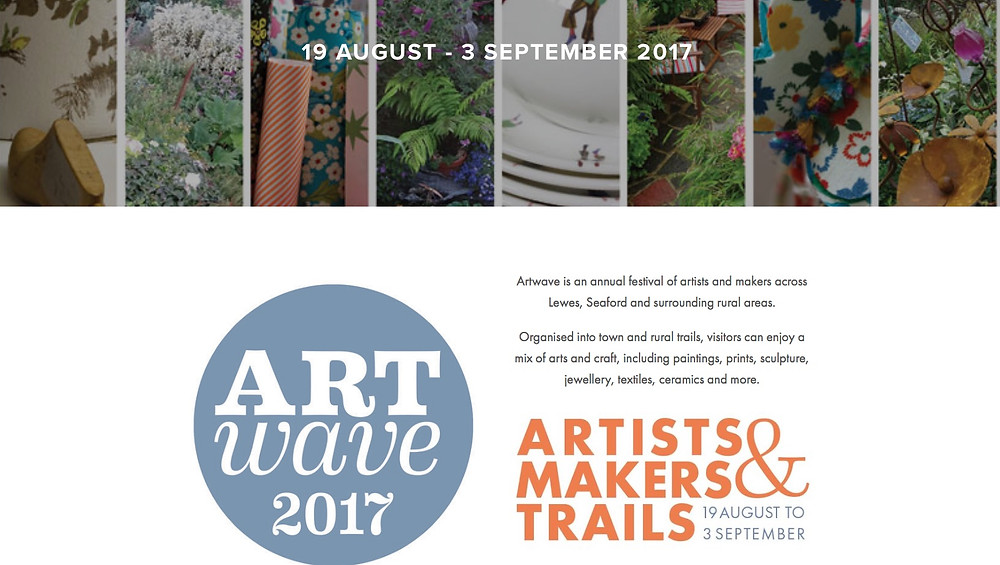 Art wave 2017 local B&B accommodation for Lewes