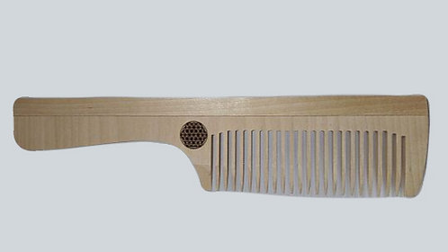 Flower of Life Birch Comb 超光生命之花桦木梳