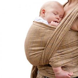 monitrice portage bébé physiologique mat
