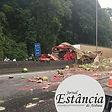 RODOVIA  fernao dias acidente com duas carretas17022021