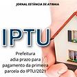 ATIBAIA novo prazo para pagamento do iptu24022021