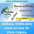 ATIBAIA OVBA abre curso on line 01022021