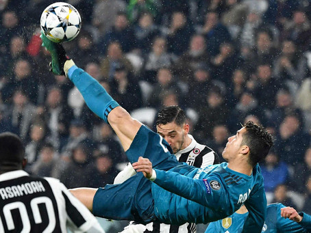 Ronaldos OTROLIGA Mål!
