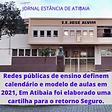 Atibaia Educacao escolas definem calendario e cartilha para o retorno seguro 15022021