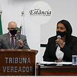 ATIBAIA camara municipal vereador GCM Santos e Vereadora Ana Paula 05022021