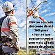 ELEKTRO concede desconto para clientes 14022021