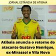 ATIBAIA esporte Falcao anuncia o retorno do atacante13022021