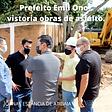 ATIBAIA prefeito emil ono vistoria as obras08022021