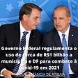 GOVERNO FEDERAL regulamenta uso de verba para combate ao covid19 02022021
