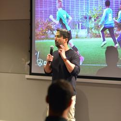 ChallengeNow i tidning och pratar om att skapa Integration på Fotbollsplan.
