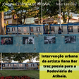 ATIBAIA cultura intervencao urbana da artista ilana bar 17022021