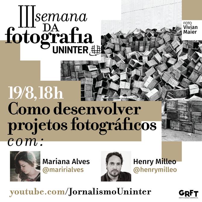 A mesa ''Desenvolvendo projetos fotográficos'' fecha a III Semana da Fotografia