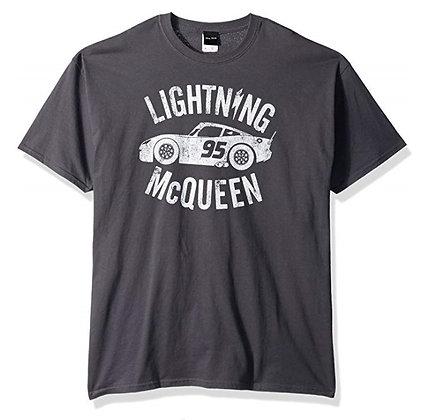 Mens Cars 3 Lightning McQueen T-Shirt