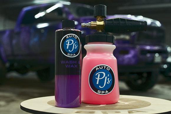 PJs Foam Cannon + PJs Wash & Wax