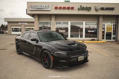 completed hellcat for dealership