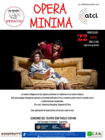 Opera Minima