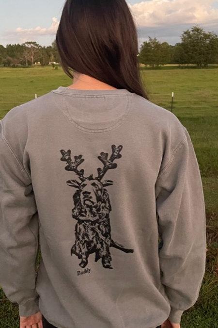 Comfort Color Grey Adult Sweatshirt
