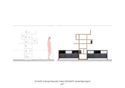Conception réalisation meuble sur-mesure