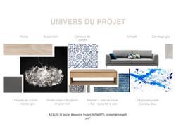 Planche univers du projet