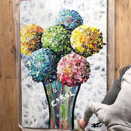 #2 Bouquet de couleurs imperissable