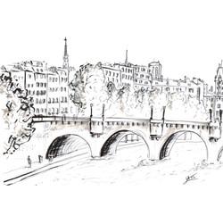 Croquis Paris Seine