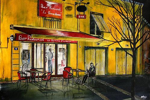 """Bar Restaurant """"La bonne humeur"""" Place Aristide Briand, 44 240 Sucé sur Erdre"""