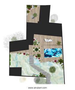 Conception réalisation aménagement paysager
