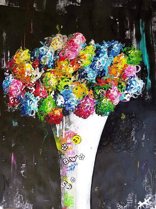 #4 Bouquet de couleurs impérissable