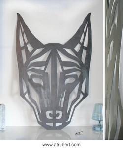 """Watch dog"" 118,5 x 77,5 cm 650 €"
