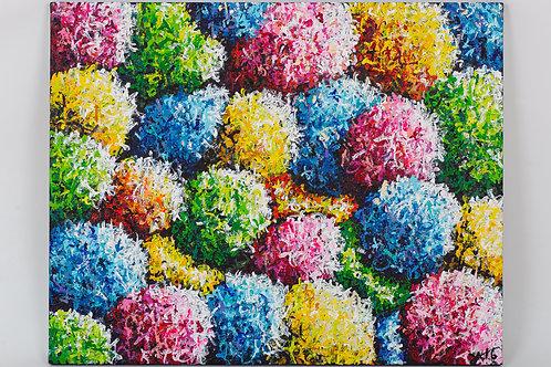 #12 Bouquet de couleurs impérissable