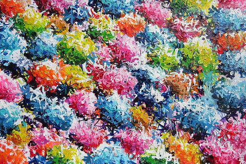 #8 Bouquet de couleur impérissable
