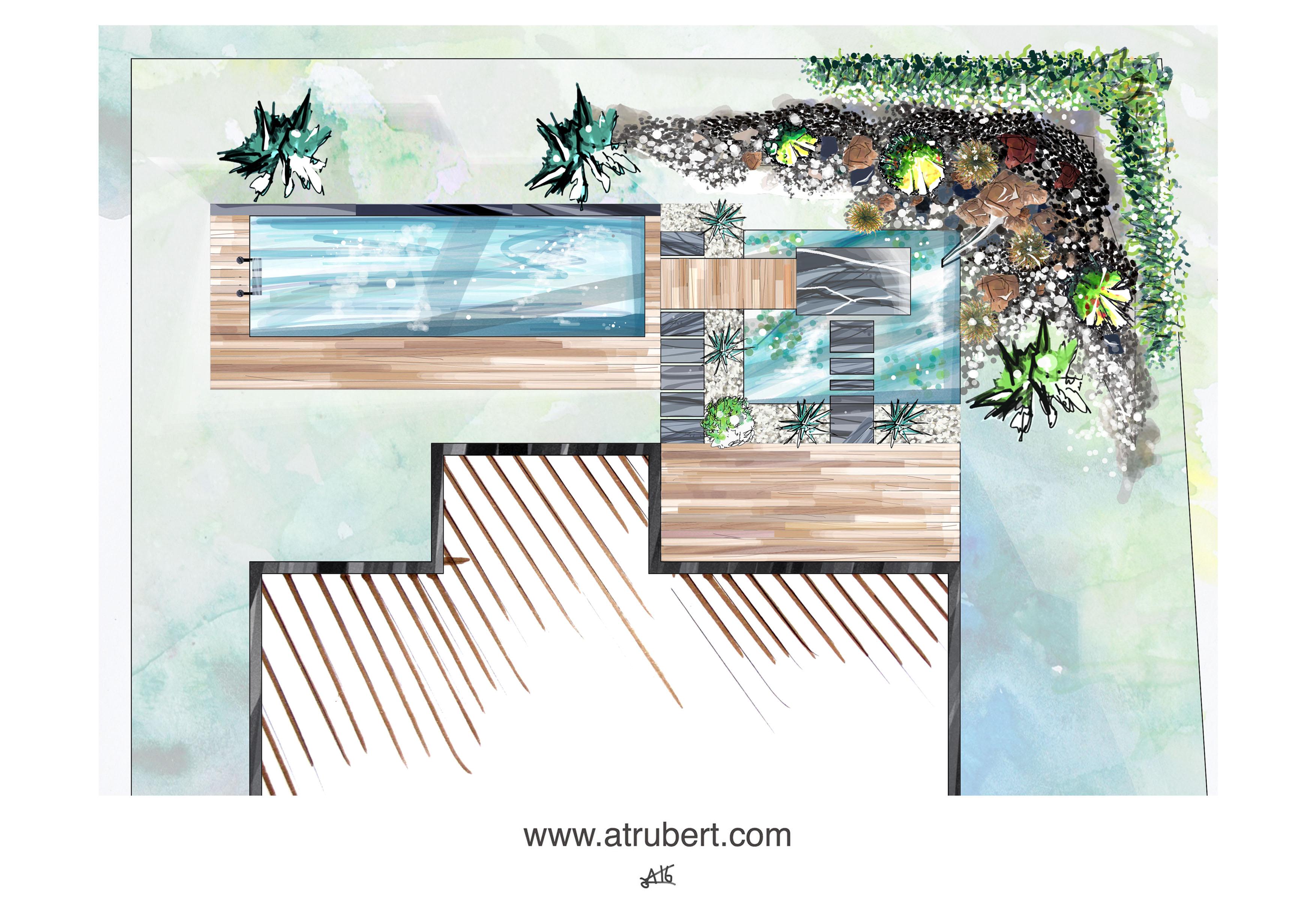 Conception aménagement paysager