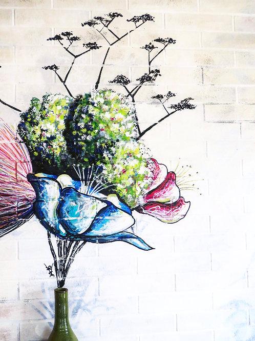 #0 Bouquet de couleurs impérissable
