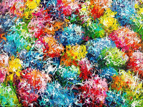 #6 Bouquet de couleurs impérissable