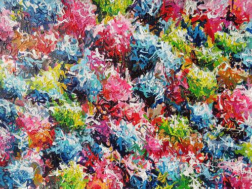 #7 Bouquet de couleur impérissable