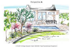 Conception aménagement Piscine/Terrasse