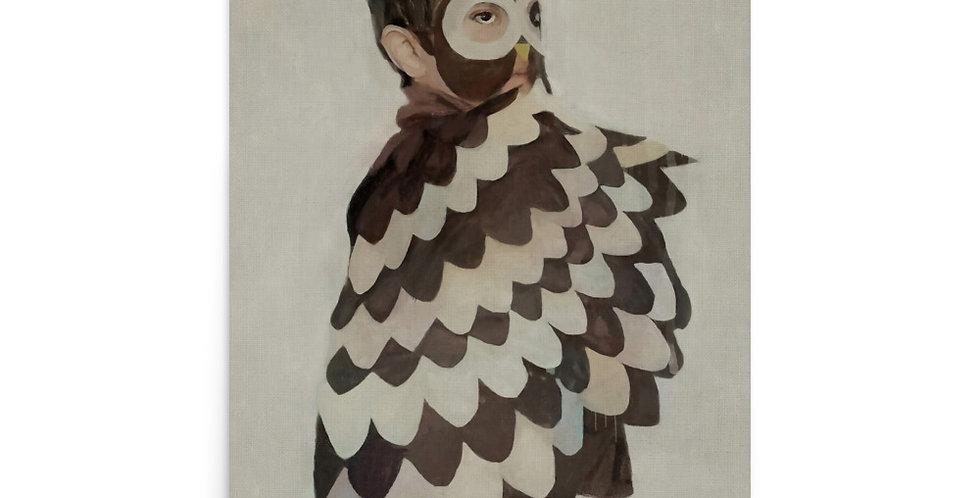 Boy Owl - 24x36 Matte Giclée Print