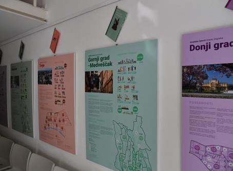 U ZgForumu izložba o gradskim četvrtima