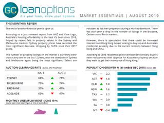 Market Essentials August 2019