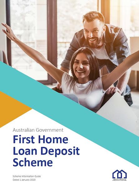 First home buyer, home loan, first home loan deposit scheme