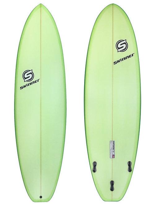 "SKINNER SURFBOARDS 6'8 X 22"" X 2.75"" PERFORMANCE FUNSHAPE PIGMENT - 44.5 LITERS"