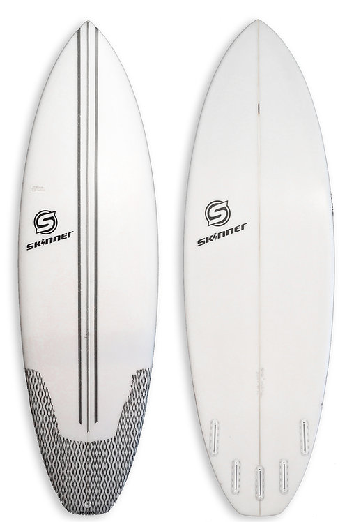 """The Mullet Run  5'10.5 x 20.75"""" x 2 3/8 34.02 Liters"""