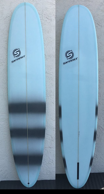 "SKINNER 9'0 X 23 X 2.75"" Poly Pigment Longboard 70.08 Liters"