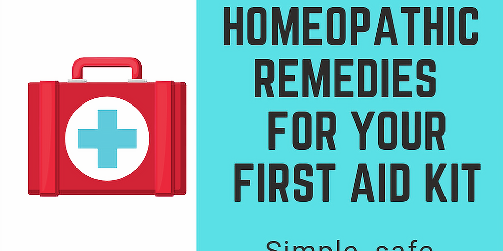 Homeopathic Remedies for Your First Aid Kit