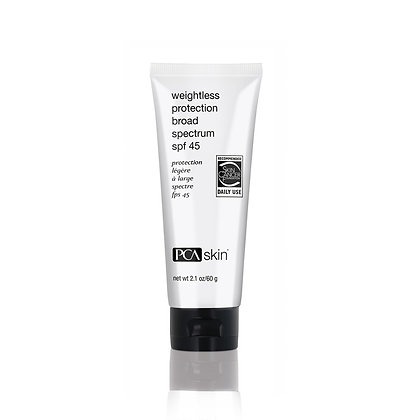 Weightless Protection Broad Spectrum SPF45 2.1 oz.
