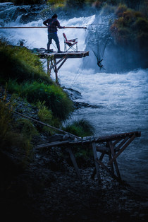 Fisherman on the Deschutes River